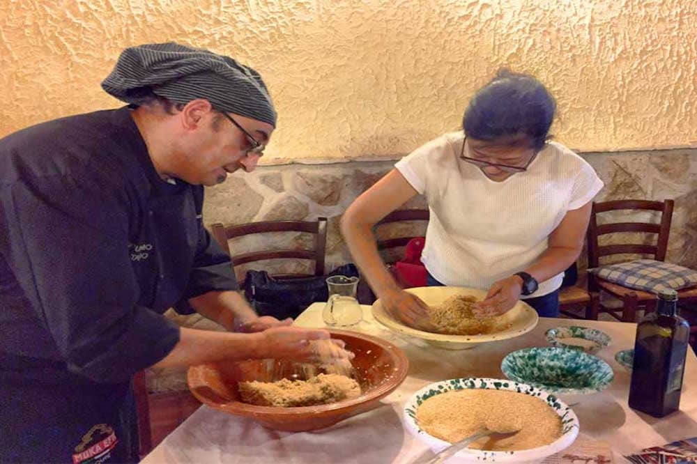Cooking Class and traditional Sicilian launch within a holiday farm in Trapani-image-4