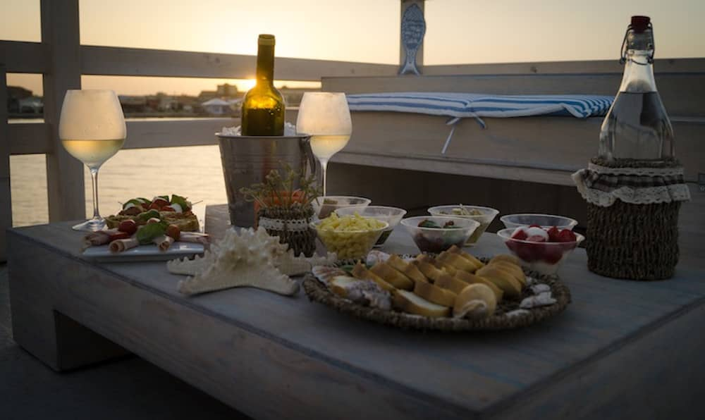 Sunset Aperitif by boat at Marzamemi in the Province of Syracuse-image-4