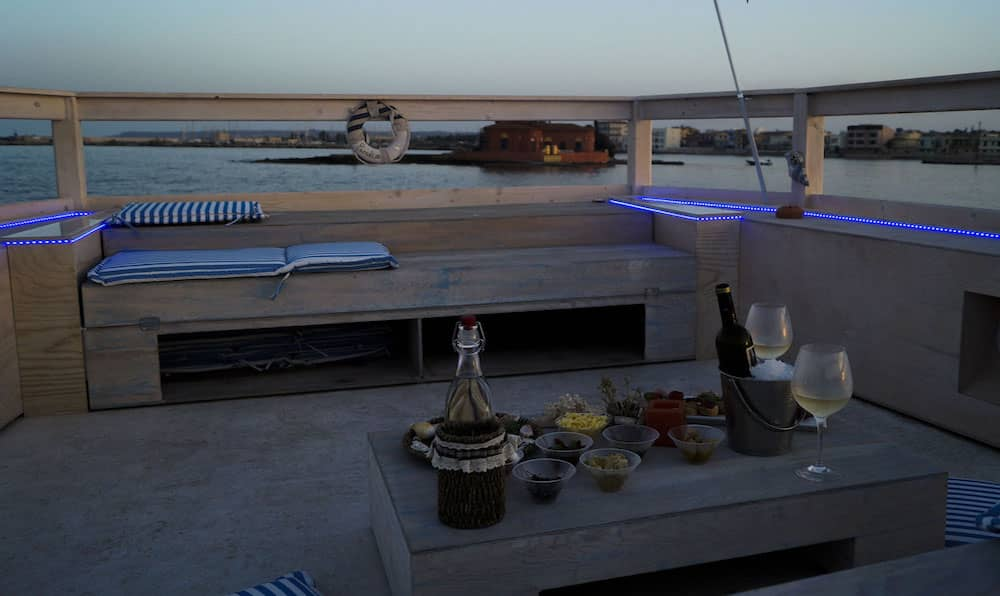 Sunset Aperitif by boat at Marzamemi in the Province of Syracuse-image-7