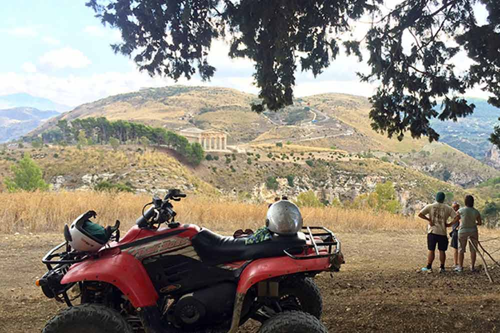 Quad bike ride along the countryside of Trapani and visit to the Archaeological Park of Segesta-image-5