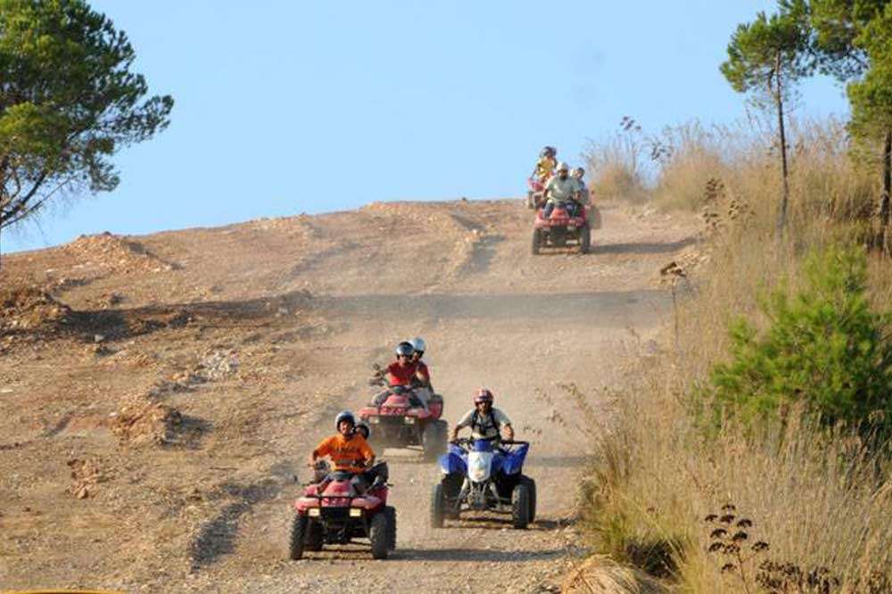 Quad bike ride along the countryside of Trapani and visit to the Archaeological Park of Segesta-image-9