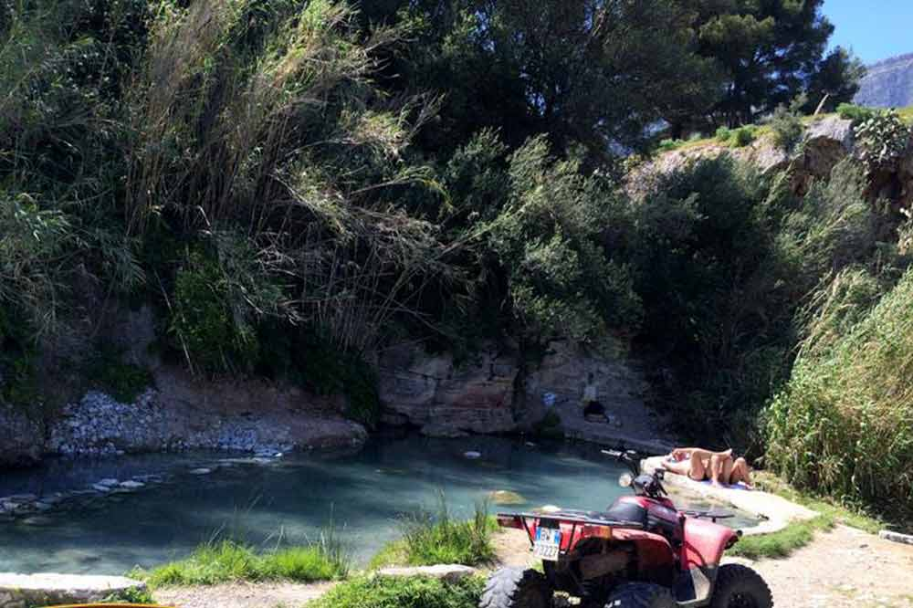 Quad bike ride to Trapani and thermal baths in the hydrothermal Springs of Segesta-image-5