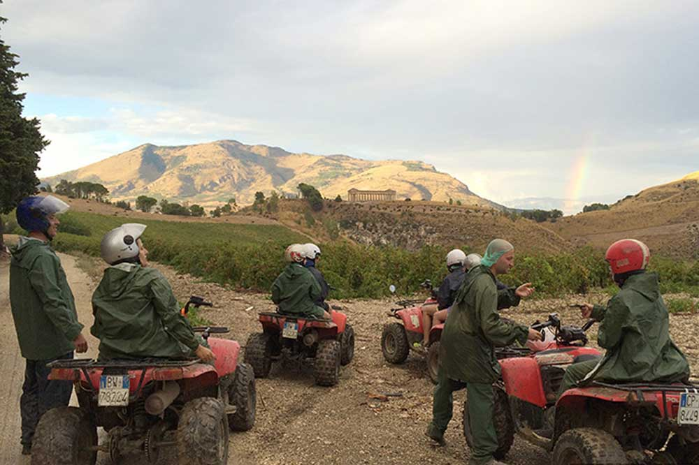 Quad bike ride to Trapani and thermal baths in the hydrothermal Springs of Segesta-image-6
