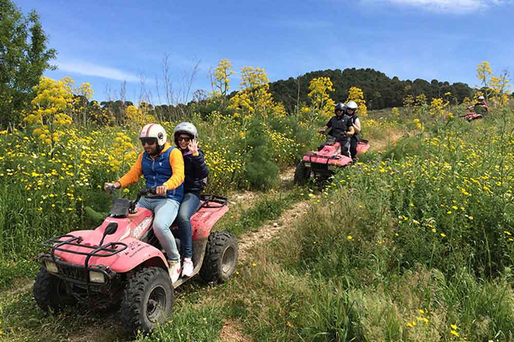 Quad bike ride to Trapani and thermal baths in the hydrothermal Springs of Segesta-image-7