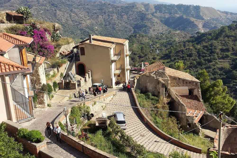 A Tour by Ape Calessino along Savoca the Sicilian village from the Godfather-image-5