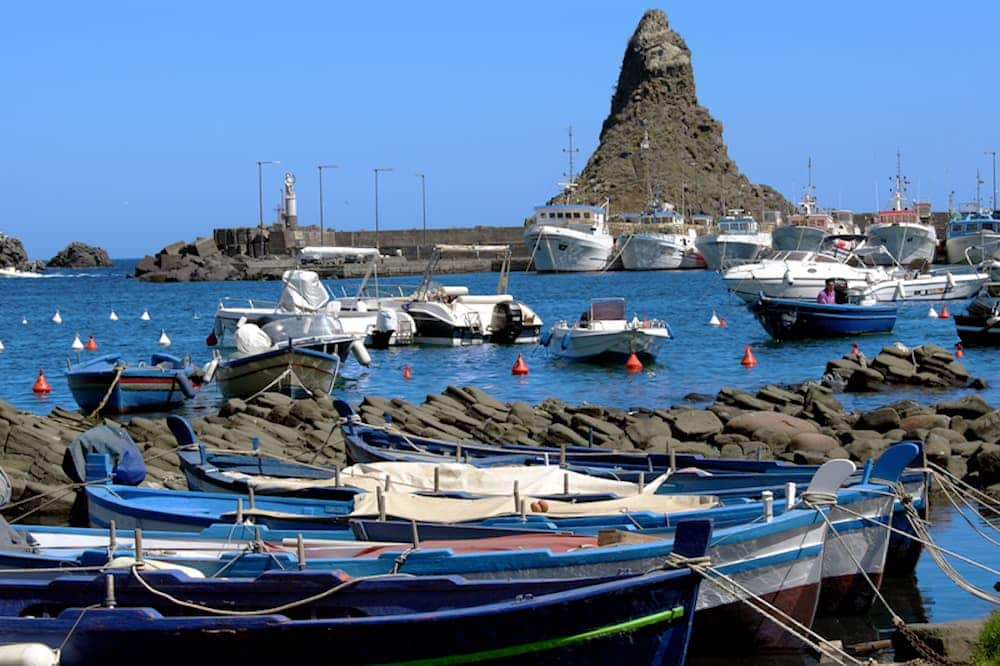 Boat excursion towards the sea stacks in Aci Castello and Acitrezza-image-5