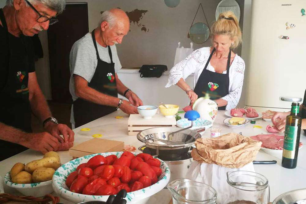 Sicilian cuisine based cooking class in the Farm Cultural Park close to Agrigento-image-4