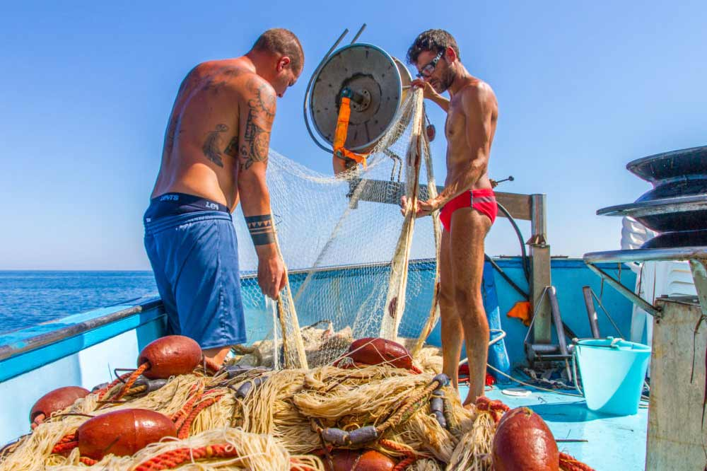 Boat trip and fishing tourism in Cefalù-image-8