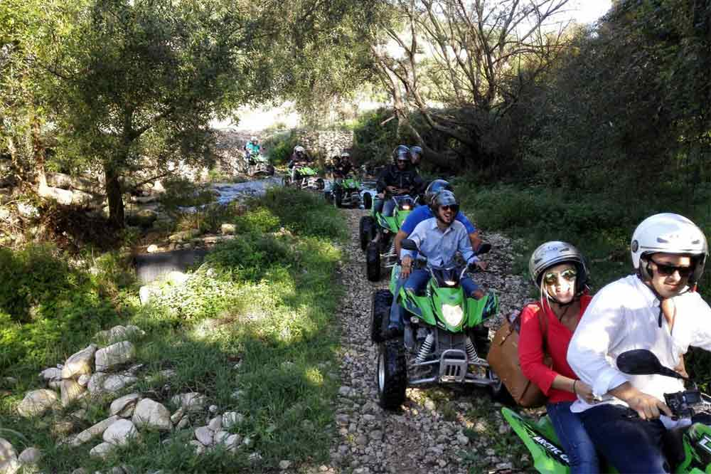 Quad bike tour of the hyblaean countryside between Modica and Ragusa-image-9