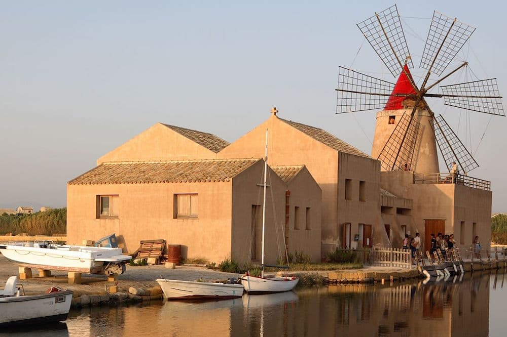 Visit to the salt pans of Marsala, tasting and harvesting of salt in the vicinity of Trapani-image-7